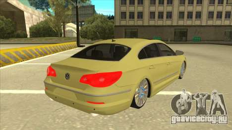 VW Passat CC для GTA San Andreas вид справа