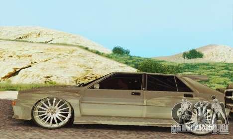 Lancia Delta HF Integrale для GTA San Andreas вид слева