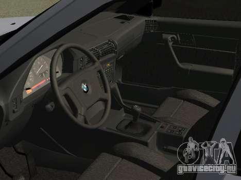 BMW 525I для GTA San Andreas вид сзади