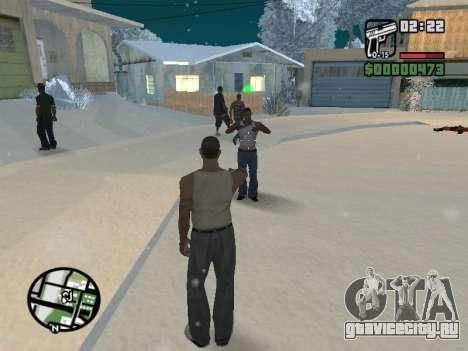 Переключение между героями как в GTA V для GTA San Andreas седьмой скриншот