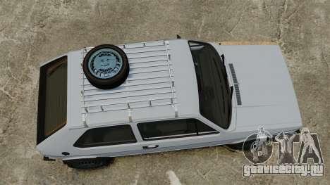 Volkswagen Golf MK1 GTI Rat Style для GTA 4 вид справа