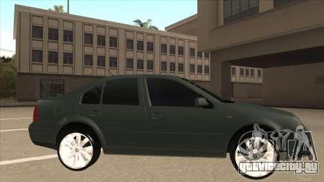 Jetta 2003 Version Normal для GTA San Andreas вид сзади слева