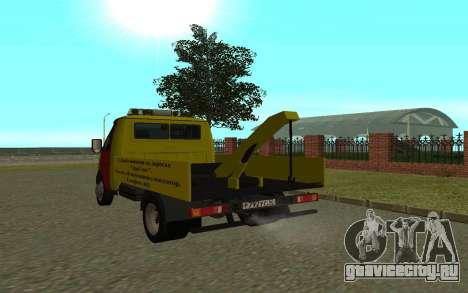ГАЗель 3302 Эвакуатор Бизнес для GTA San Andreas вид справа