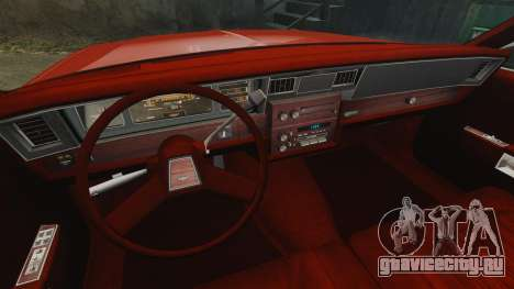 Chevrolet Caprice Wagon 1989 для GTA 4 вид сбоку