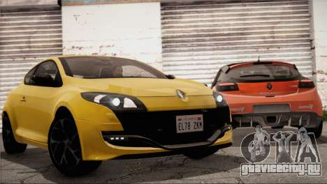 Renault Megane RS Tunable для GTA San Andreas