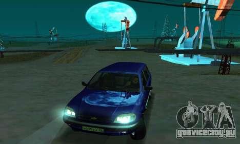 ВАЗ 21236 Шевроле Нива для GTA San Andreas вид справа