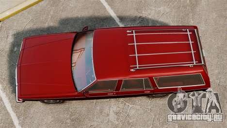 Chevrolet Caprice Wagon 1989 для GTA 4 вид справа