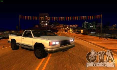 ENBSeries by MatB1200 V1.1 для GTA San Andreas четвёртый скриншот