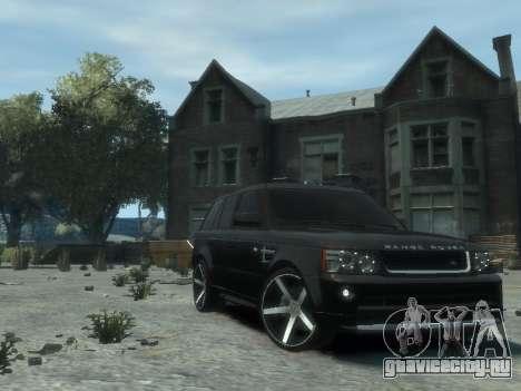 Range Rover Sport 2013 для GTA 4 вид справа