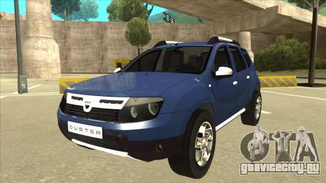Dacia Duster 2014 для GTA San Andreas