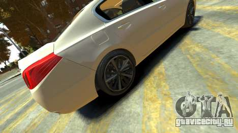 Peugeot 408 GT для GTA 4 вид сзади слева