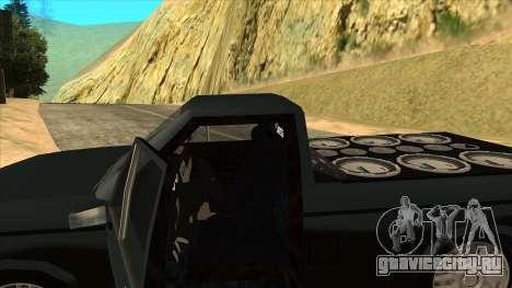 NEW Bobcat для GTA San Andreas вид сбоку
