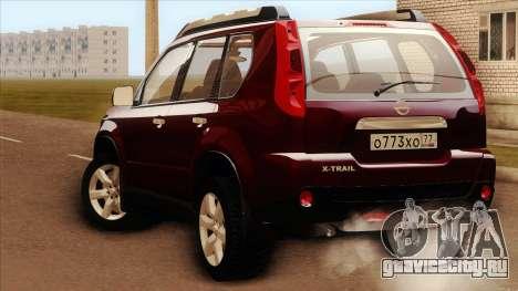 Nissan X-Trail 2009 для GTA San Andreas вид слева