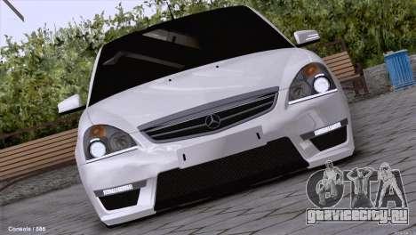 Lada Priora AMG Version для GTA San Andreas вид слева