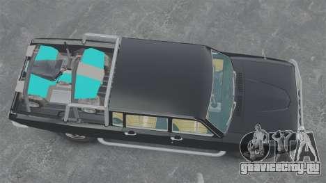 ГАЗ-2402 4x4 Пикап для GTA 4 вид справа