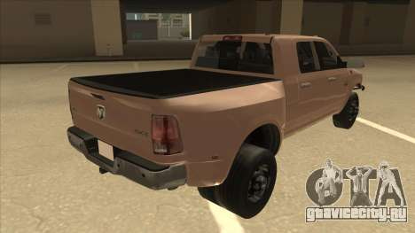 Dodge Ram [Johan] для GTA San Andreas вид справа