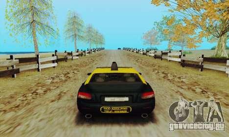 Mercenaries 2 Такси для GTA San Andreas вид справа
