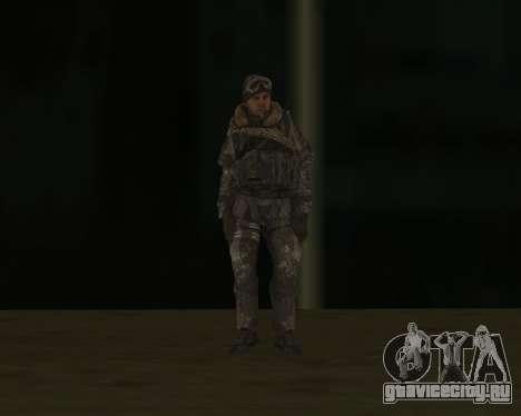 Soap MacTavish для GTA San Andreas третий скриншот