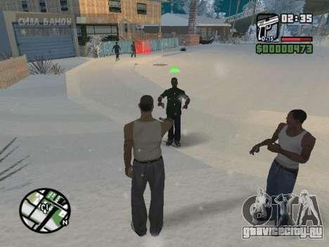Переключение между героями как в GTA V для GTA San Andreas пятый скриншот