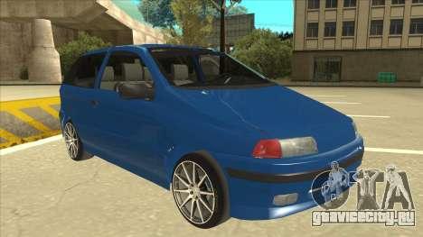 Fiat Punto MK1 Tuning для GTA San Andreas вид слева