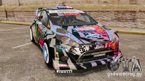 Ford Fiesta Gymkhana 6 Ken Block [Hoonigan] 2013 для GTA 4