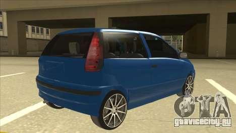 Fiat Punto MK1 Tuning для GTA San Andreas вид справа