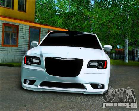 Chrysler 300C SRT-8 MANSORY_CLUB для GTA San Andreas вид изнутри
