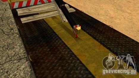 Камаз 43114 Эвакуатор для GTA San Andreas вид снизу