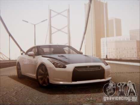 Nissan GT-R R35 Spec V 2010 для GTA San Andreas вид слева