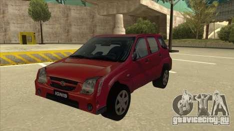 Suzuki Ignis для GTA San Andreas
