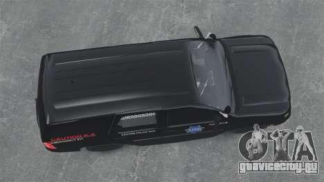 Chevrolet Tahoe 2010 PPV SFPD v1.4 [ELS] для GTA 4 вид справа