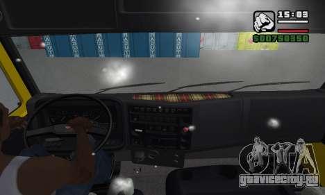 КамАЗ 65116 для GTA San Andreas вид снизу