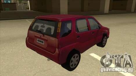 Suzuki Ignis для GTA San Andreas вид справа