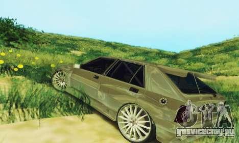 Lancia Delta HF Integrale для GTA San Andreas вид сзади слева