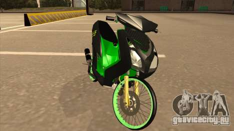 Yamaha Mio Soul 2 Monster Energy для GTA San Andreas
