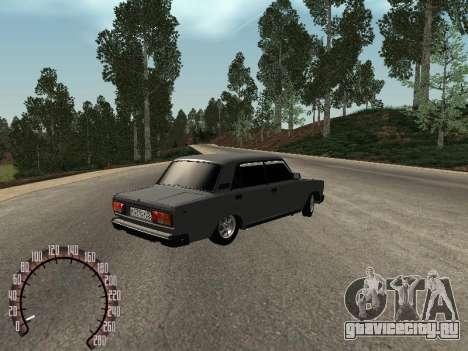 ВАЗ 2105 для GTA San Andreas вид справа