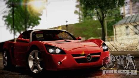 Opel Speedster Turbo 2004 для GTA San Andreas вид слева
