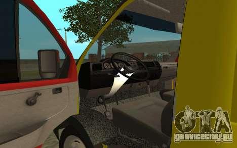 ГАЗель 3302 Эвакуатор Бизнес для GTA San Andreas вид сзади