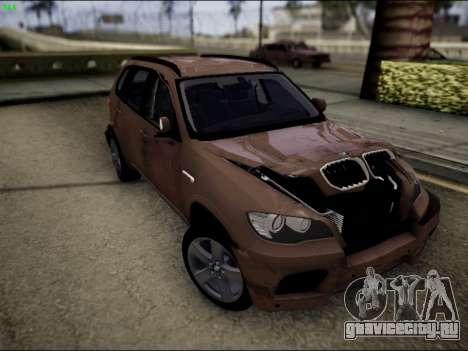 BMW X5M для GTA San Andreas вид сбоку