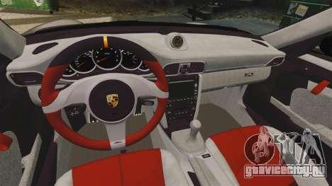 Porsche 997 GT2 2012 Simple version для GTA 4 вид изнутри