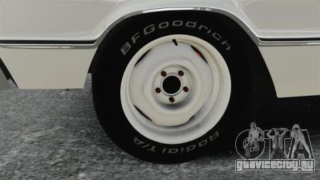 Dodge Coronet 440 1967 для GTA 4 вид сзади
