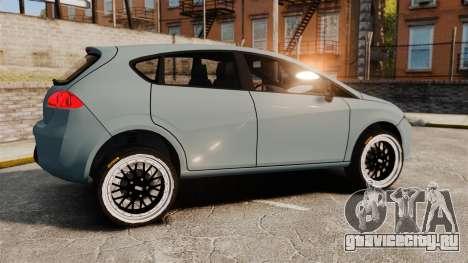 Seat Leon Gtaciyiz для GTA 4 вид слева