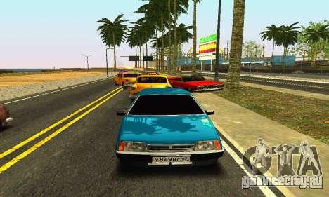 ВАЗ 21099 для GTA San Andreas вид слева