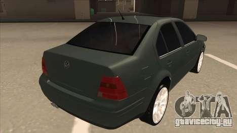 Jetta 2003 Version Normal для GTA San Andreas вид справа