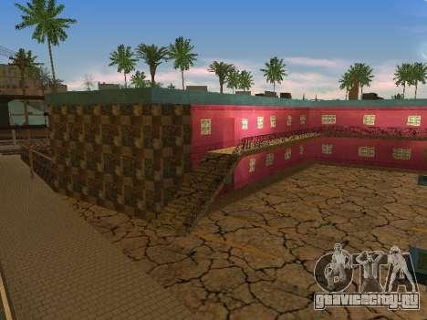 Новые текстуры отеля Jefferson для GTA San Andreas второй скриншот
