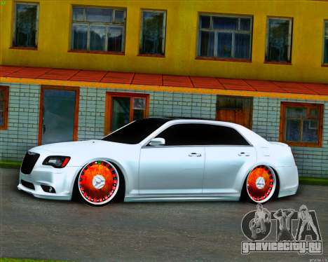 Chrysler 300C SRT-8 MANSORY_CLUB для GTA San Andreas вид слева