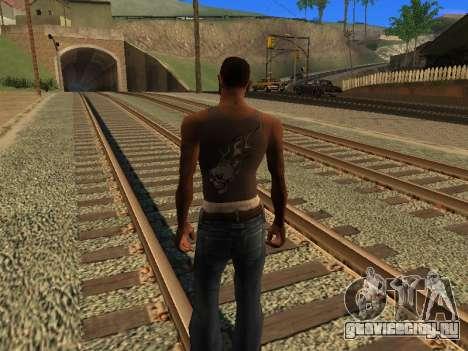 Новая майка CJ для GTA San Andreas второй скриншот