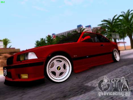 BMW M3 E36 Stance для GTA San Andreas вид слева