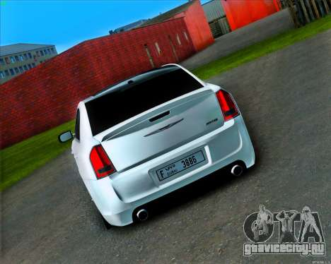 Chrysler 300C SRT-8 MANSORY_CLUB для GTA San Andreas вид справа