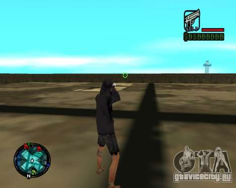 Cleo Gun for SA:MP (dgun) для GTA San Andreas третий скриншот